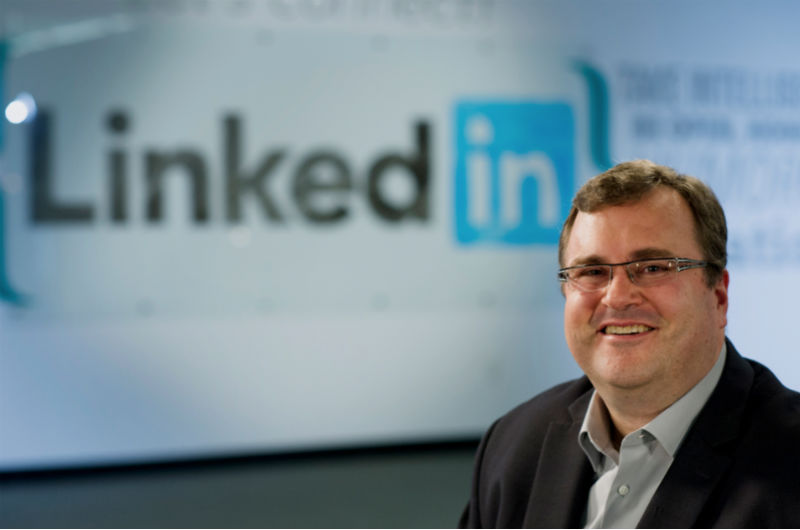 Reid Hoffman linkedin pitch deck