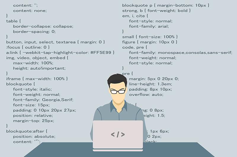 Writing blog like code