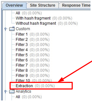 Custom Extraction Filter In Screaming Frog