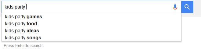 Google Auto Suggest Tool